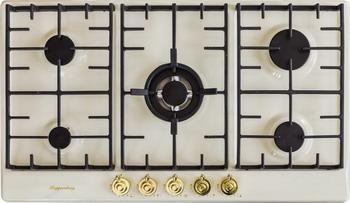 Встраиваемая газовая варочная панель Kuppersberg FV9TGRZ C Gold