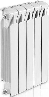 Водяной радиатор отопления RIFAR Monolit 500 х 5 сек биметаллический радиатор rifar monolit 500 сек 14