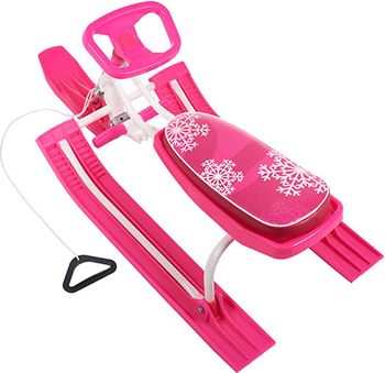 Снегокат Sweet Baby Snow Rider 2 Pink 394 847 снегокат snow moto apex snow bike titanium до 40 кг синий пластик металл ym13001