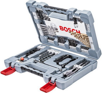 Набор бит и сверл Bosch Premium X-Line Set-76 2608 P 00234 набор бит и сверел bosch x line 70 2607019329879