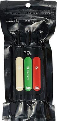 Чернила для 3D ручки светящиеся в темноте (Crystal, Green, Red) CreoPop SKU 007 стоимость