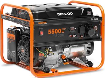 Электрический генератор и электростанция Daewoo Power Products GDA 6500 генератор бензиновый daewoo gda 6800