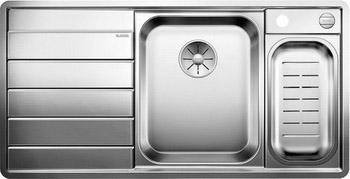 Кухонная мойка BLANCO AXIS III 6S-IF (чаша справа) нерж.сталь зеркальная полировка с кл. авт 522104 логическая пирамидка