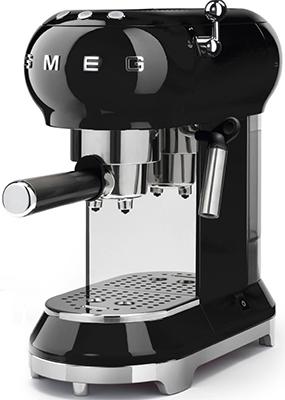 Кофемашина автоматическая Smeg ECF 01 BLEU черная все цены