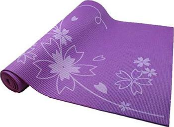 Коврик для йоги и фитнеса Z-sports BB 8300 фиолетовый коврик для йоги и фитнеса profi fit 6 мм стандарт серый