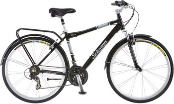 Велосипед Schwinn Discover 21 чёрный цена 2017