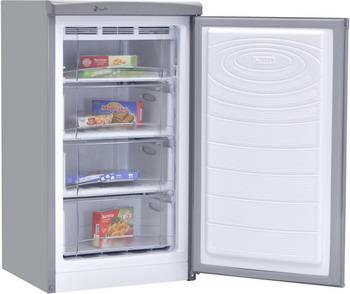 цены Морозильник NordFrost DF 161 IAP серебристый металлик