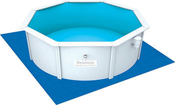 Бассейн BestWay Hydrium Pool Set 300х120 7630 л 56566 BW каркасный бассейн bestway стальной hydrium pool set 300х120см 7630 фильтр насос