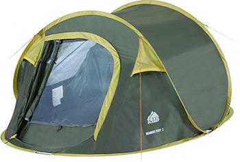 Палатка кемпинговая Trek Planet Moment Plus 2 двухслойная 70146 палатка кемпинговая trek planet lima 4 зеленый 70185