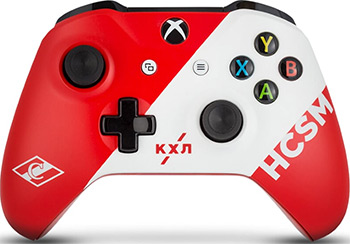 цена на Геймпад Microsoft Xbox One КХЛ ''Спартак''