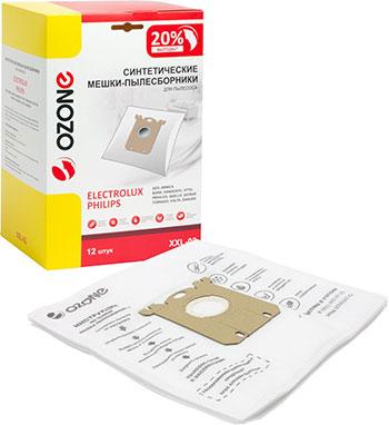 Мешки-пылесборники Ozone XXL-02 синтетические для пылесоса 12 шт
