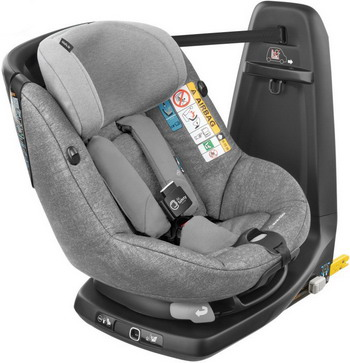 Автокресло Maxi-Cosi Axiss Fix Air Nomad Grey (61 см-105 см) 8023712110 цены