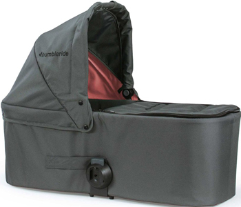 Люлька Bumbleride Bassinet для Indie Twin Dawn Grey Coral BTN-75 DGC