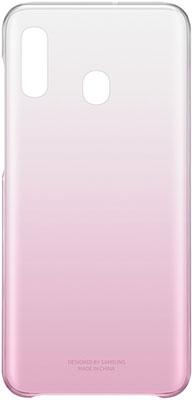 Чехол (клип-кейс) Samsung A 20 (A 205) GradationCover pink EF-AA 205 CPEGRU чехол накладка для samsung galaxy a7 2016 samsung ef fa720ppegru neon flip cover pink клип кейс поликарбонат полиуретан