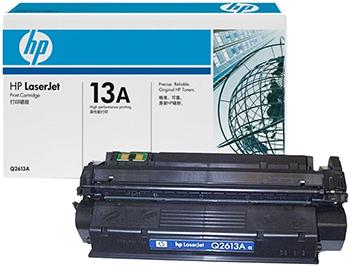 Картридж HP Q 2613 A Черный