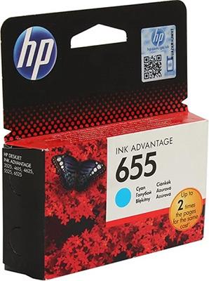 Фото - Картридж HP CZ 110 AE (№ 655) голубой картридж hp 655 cz109ae