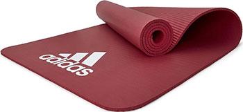 Тренировочный коврик (фитнес-мат) Adidas ADMT-11014RD (7 мм) красный adidas adidas duramo 7