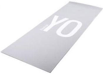 Тренировочный коврик Reebok (мат) для йоги (двухсторонний) 4мм YO-GARAYG-11030YG цена