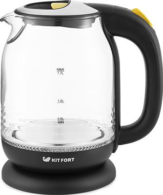 Чайник электрический Kitfort KT-654-4 жёлтый