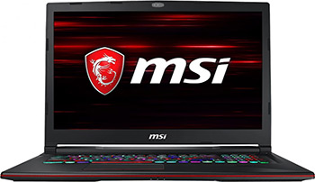 Ноутбук MSI GL63 8SDK-484RU i5 (9S7-16P732-484) чёрный игровой ноутбук msi gl63 8sdk 9s7 16p732 488 черный