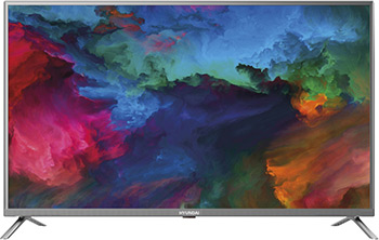 Фото - LED телевизор Hyundai H-LED50ES5001 стальной 4k uhd телевизор hyundai h led50eu7001 стальной