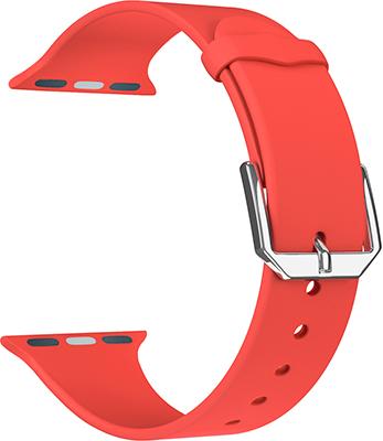 Фото - Ремешок для часов Lyambda для Apple Watch 42/44 mm ALCOR DS-APS08C-44-RD Red lyambda силиконовый ремешок alcor для apple watch 42 44 mm green