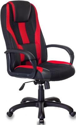 цена Кресло игровое Бюрократ VIKING-9/BL RED черный/красный онлайн в 2017 году