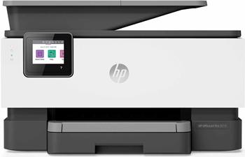 Фото - МФУ HP Officejet Pro 9010 AiO WiFi USB RJ-45 белый/серый ибп импульс юниор про 2000 2000 ва 1600 вт lcd usb rj 45 rj 11 слот для snmp акб 3х9ач iec c13 schukox2 черный 00 кб002801