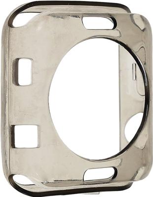 Фото - Чехол силиконовый Eva для Apple Watch 38mm - Серый (AVC005) защитное стекло skinbox apple watch 38mm