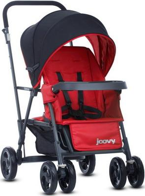 Коляска Joovy CABOOSE Graphite красный (для двоих детей) 8141