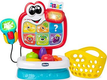 Говорящая игрушка Chicco Baby Market (рус/англ) с 18мес. 00009605000180 игрушка музыкальная chicco говорящий телефон рус англ с 6 месяцев