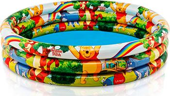 Фото - Надувной детский бассейн Intex ''Винни'' 58915NP батут надувной intex боксерский ринг с перчатками 226 x 226 x 110 см