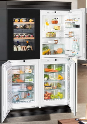 Встраиваемый холодильник Side by Side Liebherr SBSWgb 64I5 (EWTgb 1683-20 + IKP 1660-60 + IGN 1664-20 + SIBP 1650-20) вермикомпост биуд 20 л