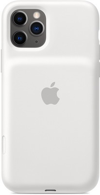 Чехол-аккумулятор Apple для iPhone 11 Pro Smart Battery Case with Wireless Charging - White MWVM2ZM/A