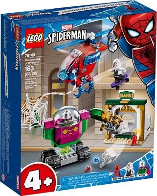 Конструктор Lego Super Heroes Угрозы Мистерио 76149