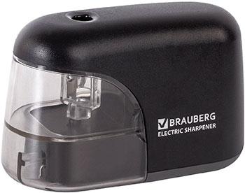 Точилка электрическая Brauberg ''Black Jack'' питание от 4 батареек АА доп. сменное лезвие 228424 насадка на сменное лезвие heiniger oster 1 4 8 мм 1 шт