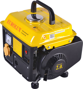 Электрический генератор и электростанция Eurolux G950A желто-черный
