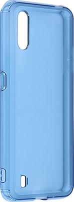 Чехол (клип-кейс) Samsung Galaxy M01 araree M cover синий (GP-FPM015KDALR)
