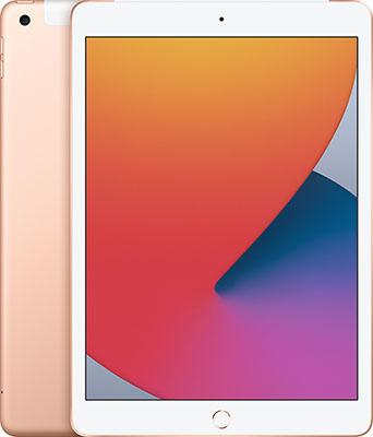 Фото - Планшет Apple 10 2-inch iPad (2020) Wi-Fi & Cellular 32GB золотой (MYMK2RU/A) планшет apple ipad 10 2 2020 wi fi 32gb mylc2ru a gold