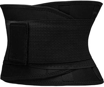 Фитнес пояс для похудения CleverCare черный  размер XL  TX-LB033B