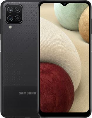 Смартфон Samsung Galaxy A12 SM-A125F 32Gb 3Gb черный смартфон samsung galaxy a12 sm a125 3 32gb черный