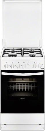 Комбинированная плита Zanussi ZCK 9540 G1W цена и фото
