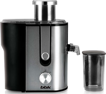цена на Соковыжималка универсальная BBK JC 060-H 02 черный/металлик