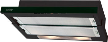 Вытяжка Cata TF 5060 GBK вентилятор e 100 gbk стекло черный cata