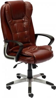 Фото - Офисное кресло Tetchair BARON (кож/зам коричневый перфорированный 2 TONE) кресло офисное tetchair поло polo доступные цвета обивки искусств чёрная кожа