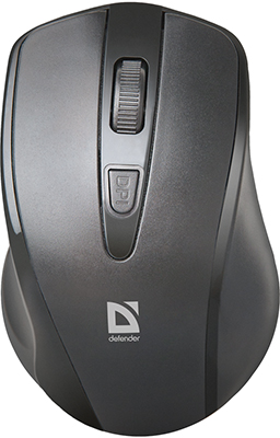 Мышь Defender Datum MM-265 черный 52265 defender datum mm 025 black беспроводная лазерная мышь
