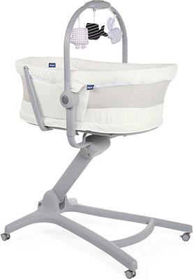 Кроватка-стульчик Chicco Baby Hug 4-в-1 Air White Snow 6079193300000