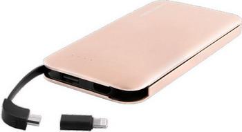 Внешний аккумулятор Red Line B8000 (8000 mAh) металл золотой аккумулятор mango mp 8000