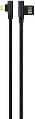 Фото - Кабель Red Line Fit USB-Micro USB черный кабель satechi flexible micro to usb 15 см черный