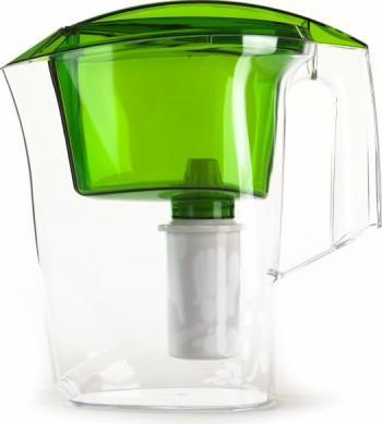 цена Кувшин Гейзер Аквилон зеленый 3л (62042) онлайн в 2017 году